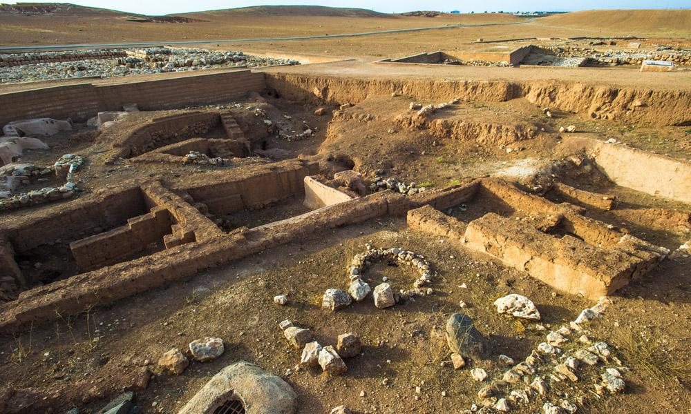 Rilievo scavi archeologici