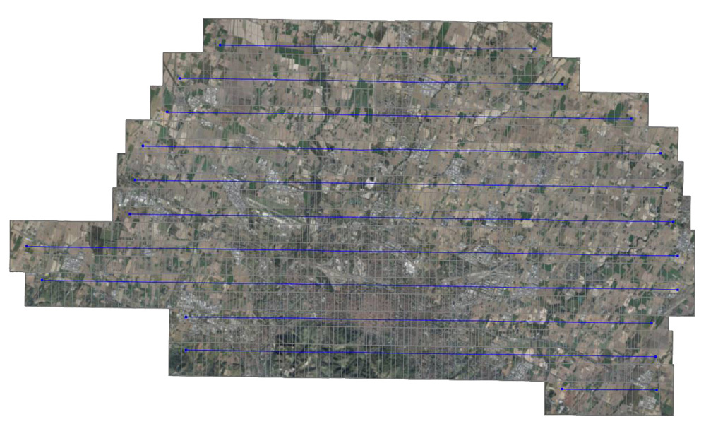 Aerial triangulation