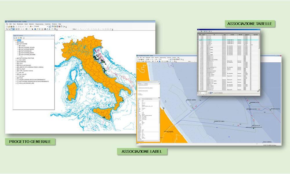 Creazione sistemi GIS per gestione infrastrutture