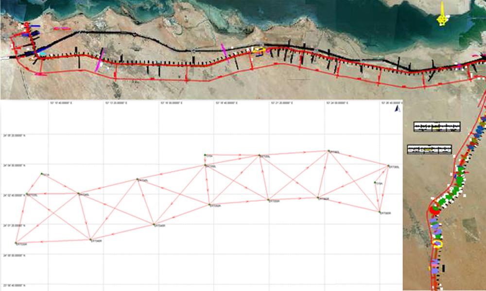 Progettazione e supervisione di reti geodetiche per infrastrutture
