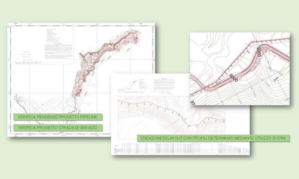 Studio di fattibilità per tracciato pipeline ed infrastrutture connesse.