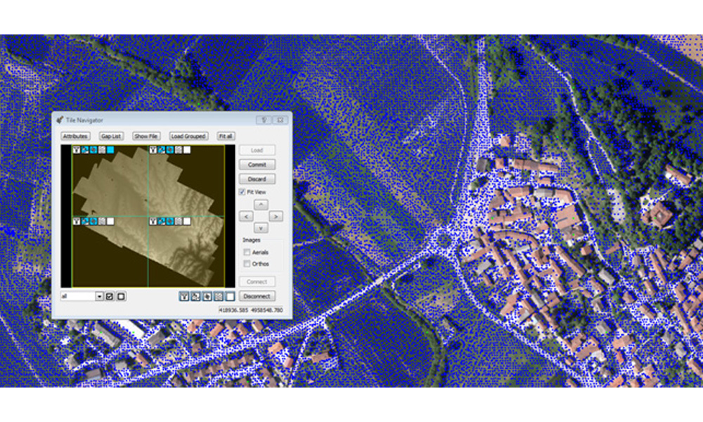 LIDAR data mapping