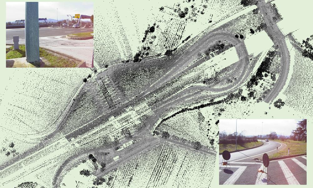 Rilievo e controllo dimensionale di infrastrutture