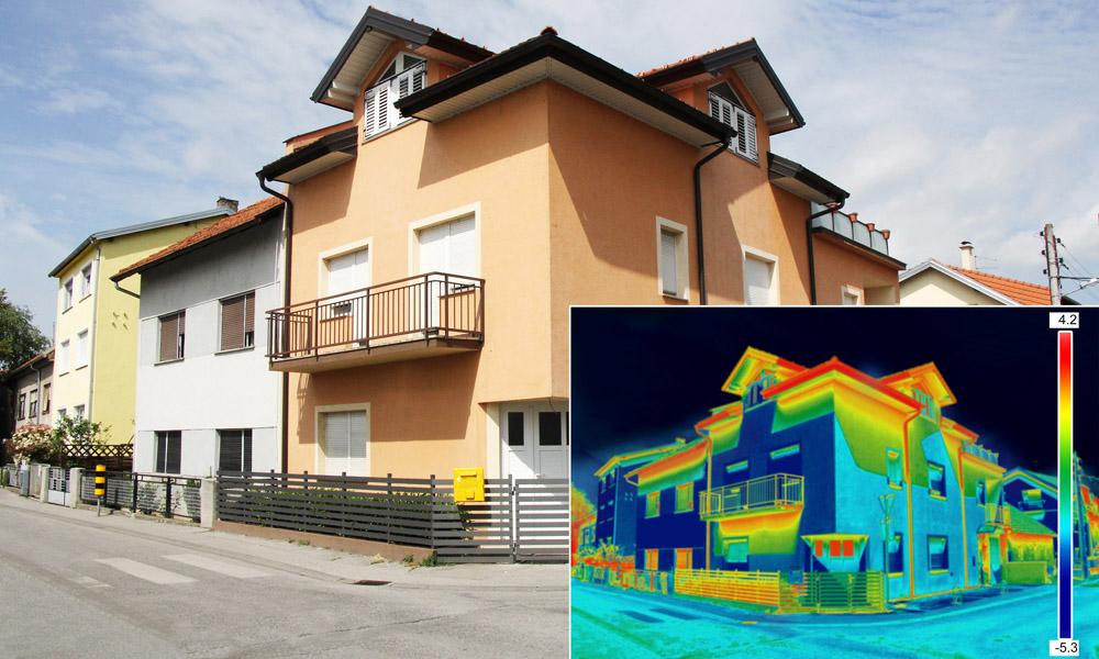 Rilievi termografici all'interno ed all'esterno di edifici