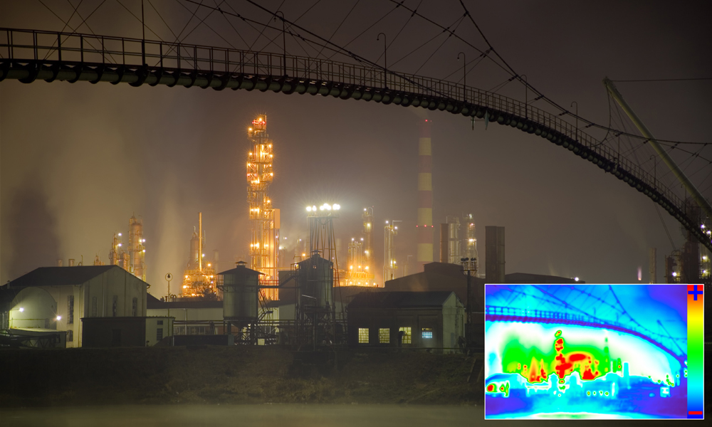 Thermographic surveys of infrastructure