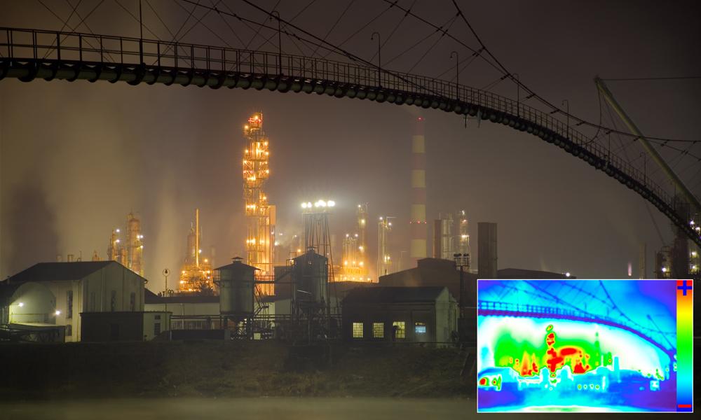 Rilievi termografici di infrastrutture