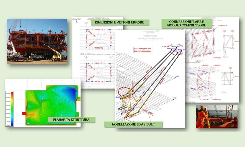 Controllo dimensionale deck, redazione reportistica