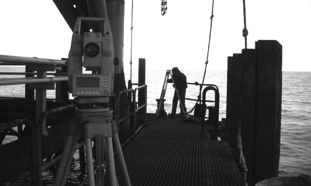Rilievi off-shore per progettazione revamping impianti