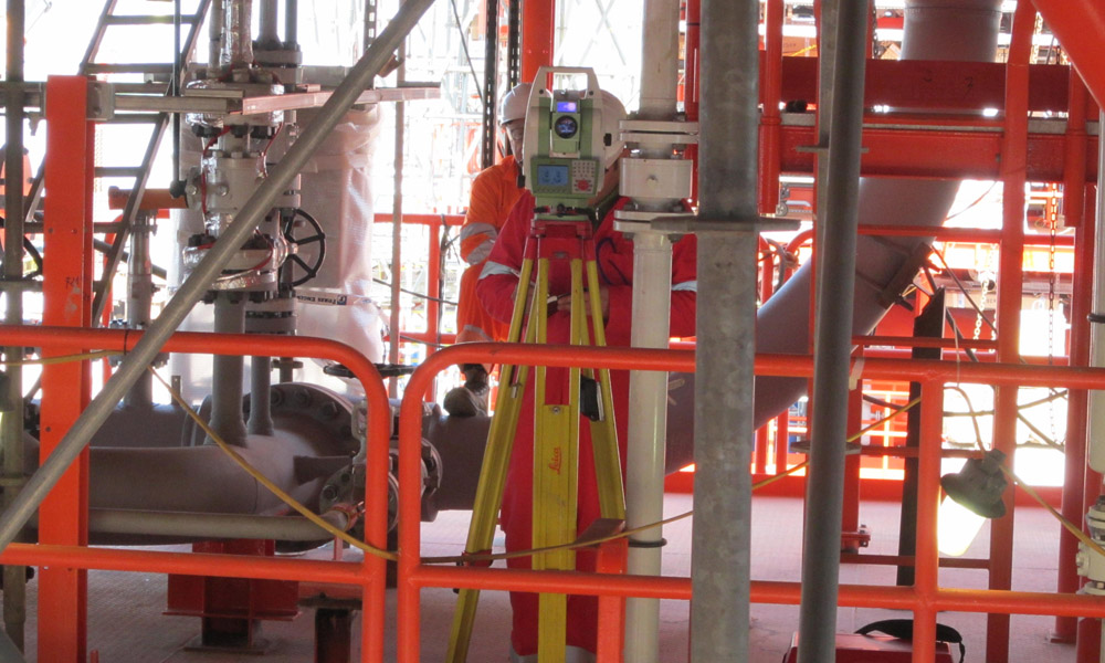 Onshore surveys during the construction phases